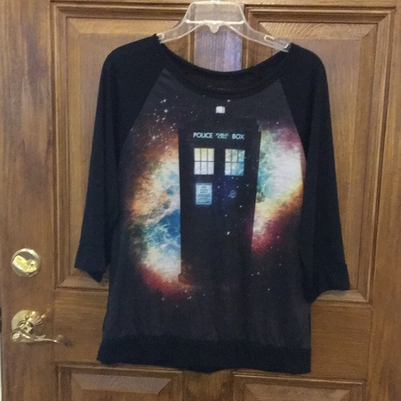 Doctor Who shirt and jewelry bundle.